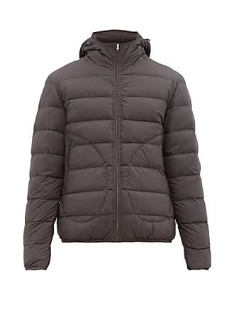Herno Il Bomber Quilted Down Jacket - Mens - Grey