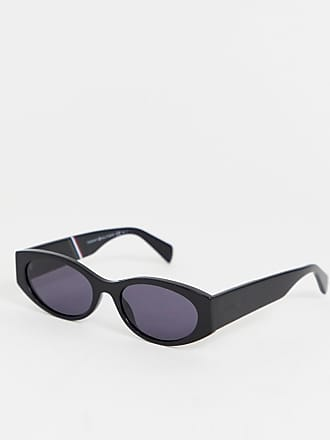 c72f08b6c472 Delivery  free. Tommy Hilfiger slim oval sunglasses in black