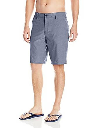 O'Neill Mens 21 Inch Outseam Hybrid Stretch Walk Short, Heather Navy, 33