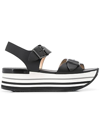 Hogan platform sandals - Black