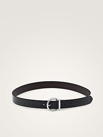 MASSIMO DUTTI REVERSIBLE LEATHER BELT