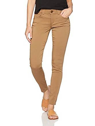 Democracy Womens Ab Solution Colored Booty Lift Jegging, Wheat, 12