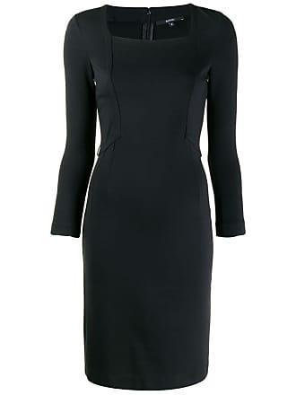 ac0741aea Gucci 1990s geometric patch fitted dress - Black