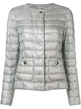 Herno slim-fit padded jacket - Silver