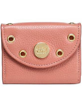 See By Chloé See By Chloé Woman Embellished Textured-leather Coin Purse Antique Rose Size