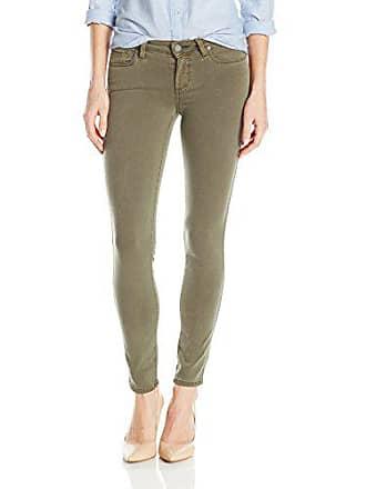 Paige Womens Verdugo Ankle Colored Jeans, Sahara Green, 31
