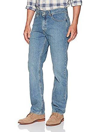 Lee Mens Relaxed Fit Straight Leg Jean, Larson, 34W x 32L