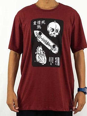 Element Camiseta Element Love Passion Death E471A0094 Vermelho