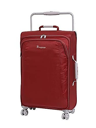 IT Luggage IT Luggage 27.6 Worlds Lightest 8 Wheel Spinner, Bossa Nova With Vapor Blue Trim