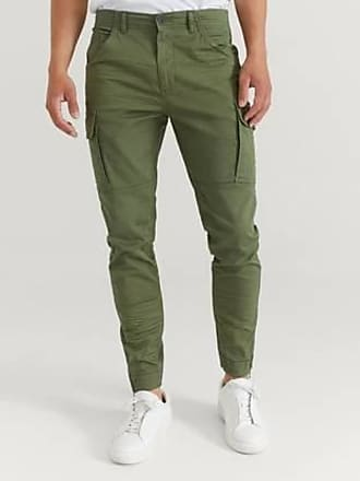 William Baxter Cargo byxor Army Cargo Trousers Grön
