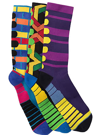 Unsimply Stitched Compression Crew Socks - Pack of 3