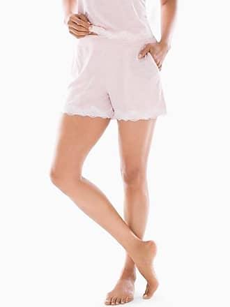 Soma Cool Nights Heather Lace Trim Pajama Shorts Heather Rose Quartz, Size XXL