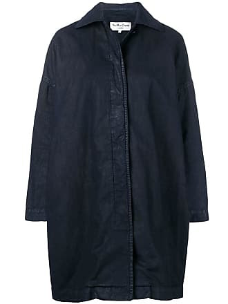 Ymc You Must Create Cocoon Painted coat - Blue