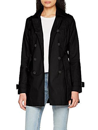 Jennyfer PME18TRENCHO, Trench Coat Femme, (Noir), X-Small (Taille 4b7291ce465