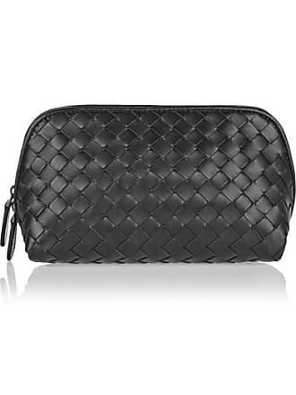Bottega Veneta Intrecciato Leather Cosmetics Case - Black. In high demand e224f6d18b3f3