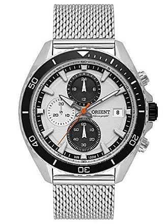 Orient Relógio Masculino Orient Analógico MBSSC178 S1SX - Prata