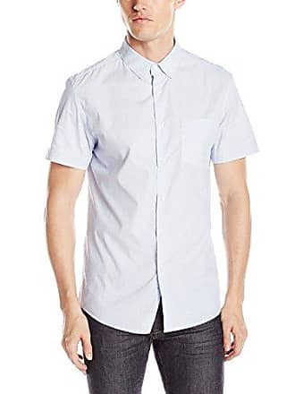 Kenneth Cole Reaction Mens Ls BDC SLM Dot, Clear Water Combo, XX-Large