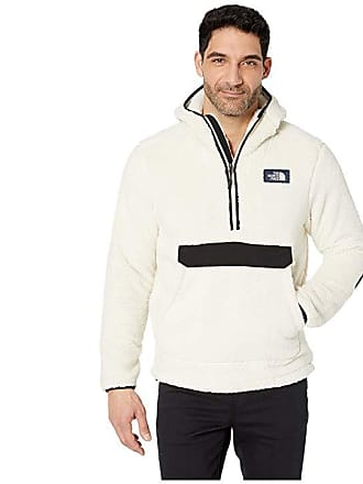 b737685525b0 The North Face Campshire Pullover Hoodie (Vintage White TNF Black) Mens  Sweatshirt