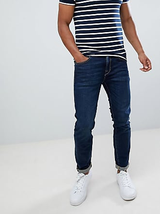 Selected jeans in slim fit - Blue