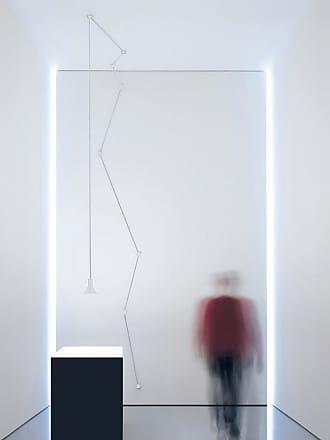 Davide Groppi Neuro Lampada Sospensione Bianco con Isolatore