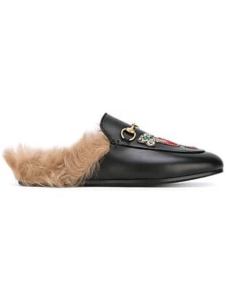 6839bd1e8a6 Gucci Princetown mules - Black