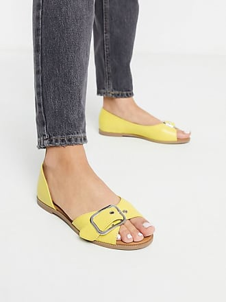 Qupid Qupid summer flat shoes in yellow