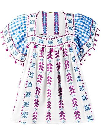 Dodo Bar Or Blusa ampla com bordados - Branco
