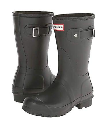 bb25ab6e1f91 Hunter Original Short Rain Boots (Dark Olive) Womens Rain Boots