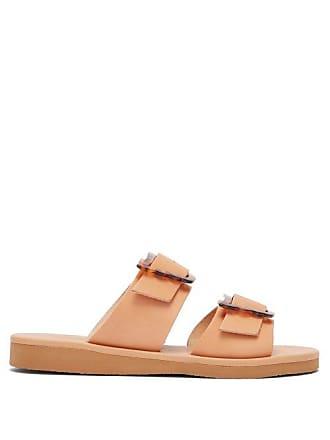 3eb522737 Ancient Greek Sandals Iaso Double Strap Leather Sandals - Womens - Tan