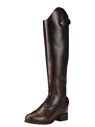 2055fdafe6e484 Ariat Womens Bromont Pro Waterproof Insulated Tall Riding Boots in Waxed  Chocolate