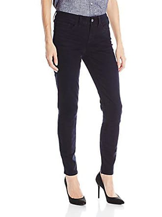 Yummie Tummie Womens Modern Mid Rise Slimming Skinny Denim Jeans, Eclipse, 30