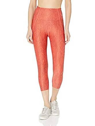 Maaji Womens Dazeful High Rise Capri Length Legging, Anemone Spice Red, X-Small