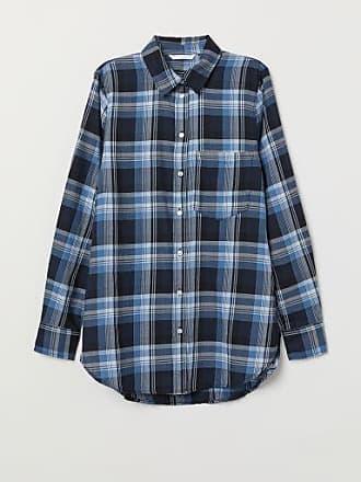H&M Checked Shirt - Blue