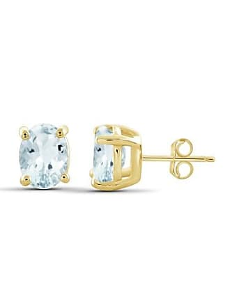 JewelersClub 2.30 Carat T.G.W. Aquamarine Gemstone Earrings