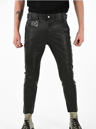 Diesel Leather P-ARDON Pant Größe 34