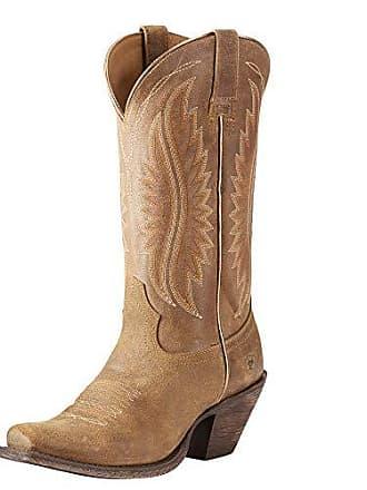 Ariat Ariat Womens Circuit Salem Western Boot, Textured Tan, 7 B US