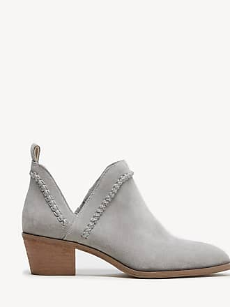 Sole Society Womens Nikkie Braided Bootie Soft Grey Size 9 Suede From Sole Society