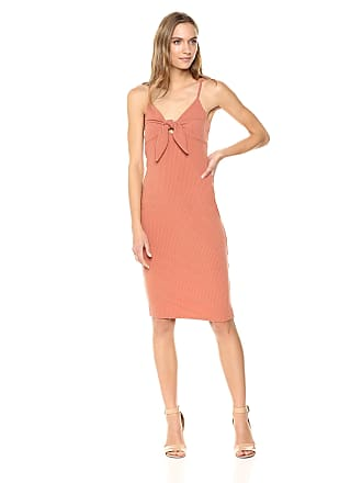 b6cfb10105 Minkpink Womens Andalusia Tie Front Midi Dress Casual