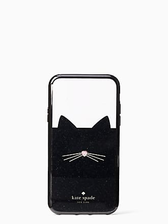 Kate Spade New York Jeweled Glitter Cat Iphone Xr Case