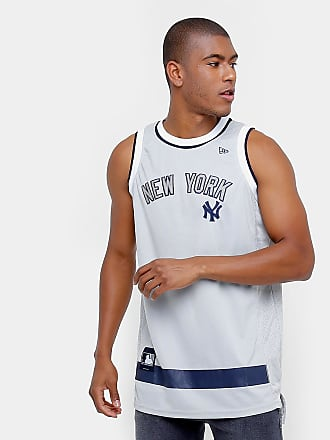 New Era Camiseta Regata New Era MLB Basketball New York Yankees - Masculino 85c5a38fefe