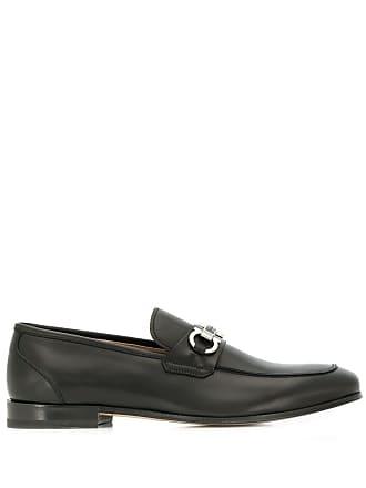 Salvatore Ferragamo Gancini loafers - Black