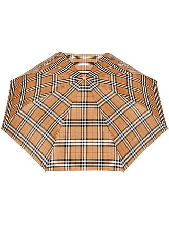 Burberry Vintage Check Folding Umbrella - Amarelo