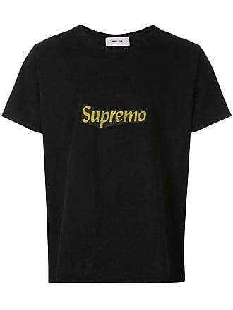 Rhude Camiseta com slogan estampado - Preto