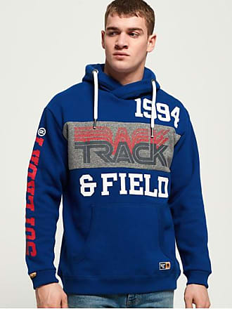 0a352eb9d84b Superdry Sweat à capuche oversize Triple Drop Track