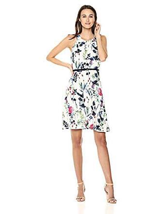 d269b619e506 Tommy Hilfiger Womens Black Multi Jersey Dress