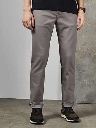 Ted Baker Straight Fit Jeans in Grey COLZZA, Mens Clothing