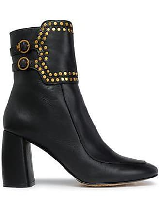 c2e2fb488 Tory Burch Tory Burch Woman Studded Leather Ankle Boots Black Size 5.5
