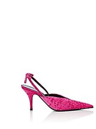 211f3ffd1697 Balenciaga Womens Velvet Slingback Pumps - Pink Size 11