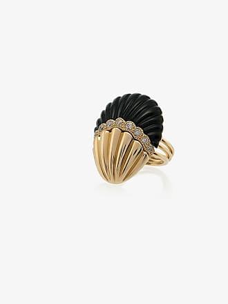 Yvonne Léon Shell Diamond Ring