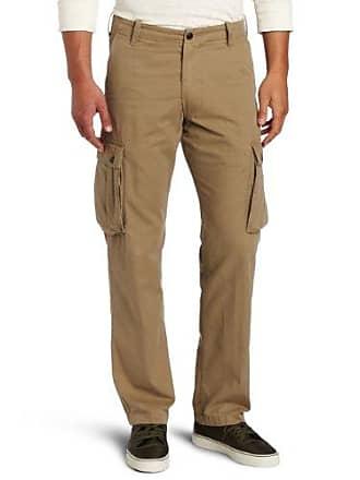 Dockers Mens Bellowed Pocket Cargo Pant, Dark Wheat - discontinued, 36W x 31L